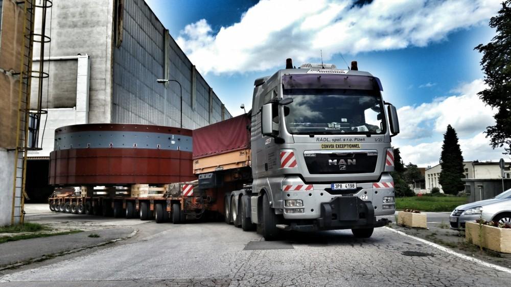 Transport von  Industriesegmente