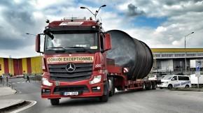 Transportation  of silo