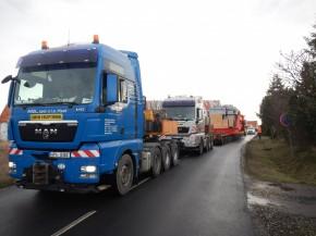Transportation of transformers PST TAMINI