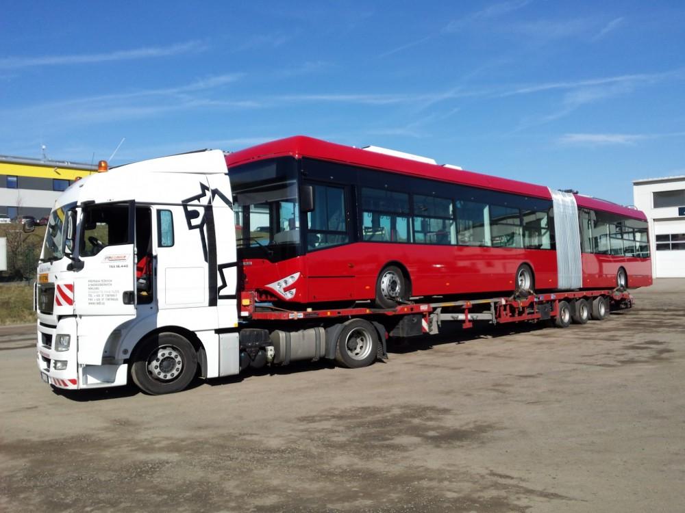 Přeprava trolejbusů